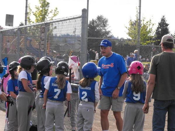 Hannah's baseball team