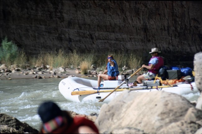 Life of leisure in the Grand Canyon