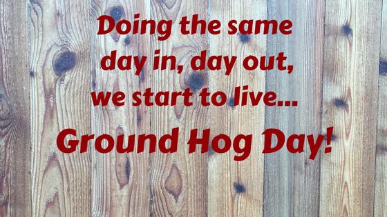 Living Groundhog Day