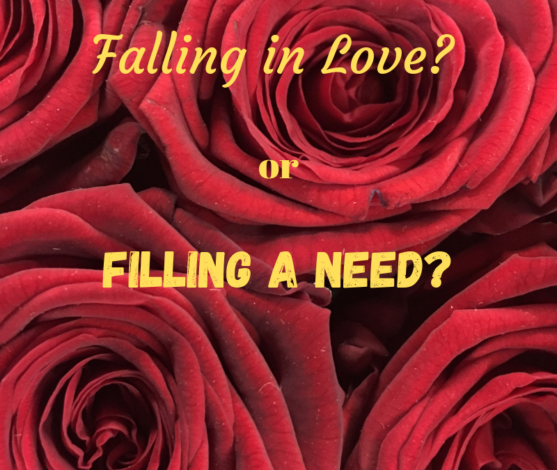 Falling in Love or Filling a Need?
